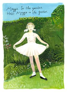 If I could live in Maira Kalman's world, I would be supremely happy.
