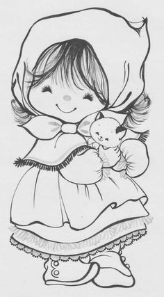 Coloring Book~Charmer Coloring Book - Bonnie Jones - Álbuns da web do Picasa Coloring Book Pages, Printable Coloring Pages, Coloring Sheets, Embroidery Patterns, Hand Embroidery, Doily Patterns, Embroidery Dress, Dress Patterns, Little Charmers
