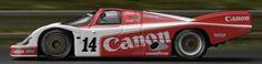 1985 2nd: Richard Lloyd Racing 956-106B (Turbo 2.6) #14 Richard Lloyd/Jonathan Palmer/James Weaver