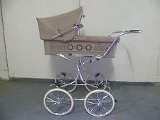 70er Jahre Nostalgie Kinderwagen ~ Retro Baby ~ vintage baby stroller pram