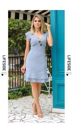 Lace White Ivory Gown Dresses For Wedding 2019 Bride Plus Online Womens Clothing Store Elegant Dresses, Cute Dresses, Casual Dresses, Short Dresses, Fashion Dresses, Summer Dresses, Beauty And Fashion, Plus Fashion, Moda Fashion