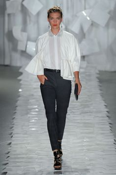 Jason Wu Spring 2012 Runway Pictures - StyleBistro