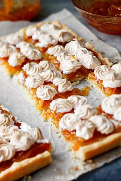 Orange & Meringue Easter Tart | Kwestia Smaku