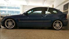 BMW E46 Compact 325ti AC Schnitzer Wheels And Tires, Car Wheels, Bmw Compact, Bmw 3 E46, Ac Schnitzer, Bike Wheel, Custom Wheels, Bmw Cars, Cars