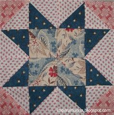 """Antique reproduction. """"Cheddar Stars Over Moab"""" by Sandra Starley, 20"""" x 24"""", with 3 inch stars.."""