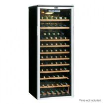 Shop for EdgeStar Wide 121 Bottle Built-In Single Zone Wine Cooler with LED Lighting and Reversible Door - Stainless Steel. Get free delivery On EVERYTHING* Overstock - Your Online Kitchen & Dining Shop! Get in rewards with Club O! Conservation, Built In Wine Cooler, Wine Chillers, Wine Refrigerator, Wine Fridge, Wine Collection, Bottle Sizes, In Vino Veritas, Italian Wine