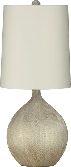 Vera Table Lamp | Crate and Barrel
