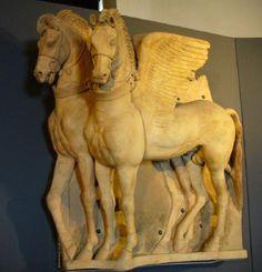 Horse sculpture, Tarquinia  Pegasus?