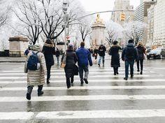 I heart New York in the snow ⛄️ #iphonephotography #iphonography #snow #citykillerz #newyork #newyork_instagram #centralpark #people #instagram #vscocam