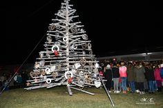 December v Ankaranu 2016 - otvoritev December, Christmas Tree, Holiday Decor, Photography, Home Decor, Teal Christmas Tree, Photograph, Decoration Home, Room Decor