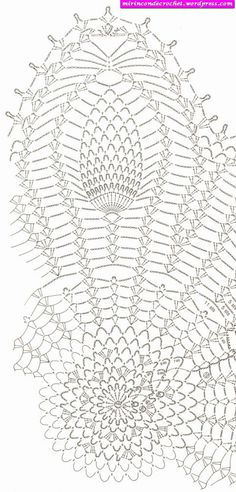 40 best crochet chair backs images on pinterest crochet doilies page 2 of 2 pineapple doily find this pin and more on crochet chair backs ccuart Gallery