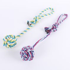 2017 Cotton Rope Toys Pet Toy Dog Bite Rope Knot Ball Molar Tooth Cleaning Rope Toy #Affiliate