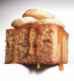 Sticky Toffee Banana Pudding Cake -   For the best flavor and texture, use very ripe bananas (those ones on the counter that are covered in black spots) in this cake. Slice up the better-looking bananas for garnish. 9 to 12 servings
