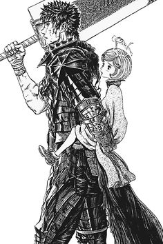 The progression of Guts as a character inspires me. He goes from an edgy guy into a man who looks after the ones he loves and sets aside his past and anger (unless a dire situation calls for it). I strive to do the same :D