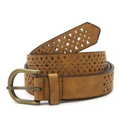 New Fashion Women's Vintage Accessories Dress Casual Thin Leisure Leather Belt
