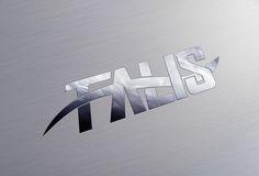Logotipo en cromo sobre aluminio de la empresa Talis