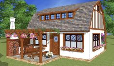 Sunt frumoase proiectele de case tradiționale românești concepute de arhitectul Adrian Păun | Adela Pârvu - Interior design blogger Gazebo, Pergola, Design Case, House 2, Home Fashion, My Dream Home, Sweet Home, Home And Garden, Outdoor Structures