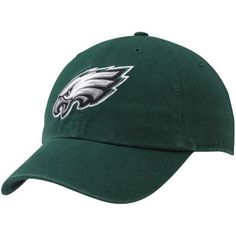 2f47abb30  47 Brand Philadelphia Eagles Women s Cleanup Adjustable Hat - Midnight  Green
