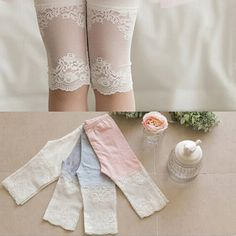 Retail Candy Color Children Girl leggings with lace flowers Baby Girl pants-in Pants from Mother & Kids on Aliexpress.com | Alibaba Group