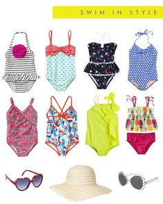 Swimming Suits for Little Girls | Hellobee Cute Little Girls, My Little Girl, Cute Kids, Little Girl Fashion, Toddler Fashion, Kids Fashion, Girls Swimming, Swimming Suits, Toddler Girl