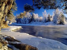 Winter wallpapers - River ice  (1600x1200, 483K)