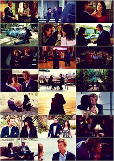 The Mentalist JL scenes. I WANT THEM TO GET MARRIED