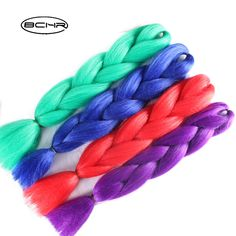 BCHR Jumbo Braids 24'' 100g/Hair For Russian Women Colors Synthetic Braiding Hair. Yesterday's price: US $3.00 (2.45 EUR). Today's price: US $1.11 (0.91 EUR). Discount: 63%.