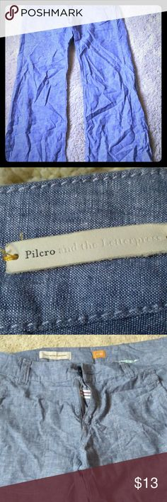 Women's slacks Chambray slacks Pilcro and the Letterpress Pants