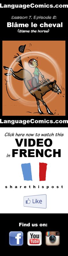 #French practice and pronunciation. Enjoy and share! https://www.youtube.com/watch?v=wouTkoZqU1Y