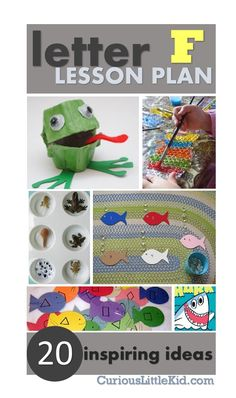 F is for Frog & Fish