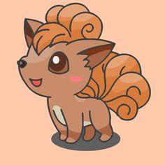 Sweet little Vulpix