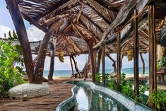 Come to Tulum for quiet Mexican beaches and historical ruins; stay for luxe hotel design at Azulik and world-class seafood at Gitano. Azulik Hotel Tulum, Azulik Tulum, Tulum Mexico, Riviera Maya, Road Trip, John Waters, Outdoor Restaurant, Unique Architecture, House Architecture