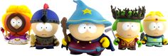 Day 229 - I must have these. South park Stick of truth figures.