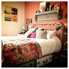 It's been at least 36 hours since I've taken a photo of my new bedroom!! The karma is just right in here (for me) even though I didn't feel it was wrong before! #bedroombore #bedroomlove #bedroomdecor #bedroom #johnlewis #copperblush #nice