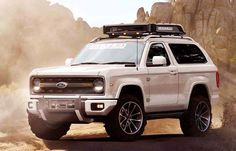 2018 Ford Bronco: Best Crossover Redesign for Any Terrain