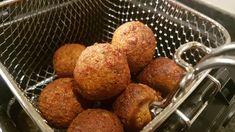 Healthy Falafel Recipe, Baked Falafel, Hummus Recipe, Vegetarian Cooking, Vegetarian Recipes, Cooking Recipes, Healthy Recipes, Chickpeas, Letters