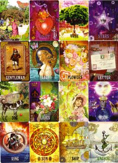 les vieux jours lenormand - One of my Favorite Lenormand Decks