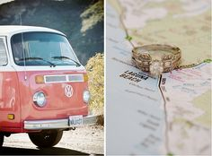 VW van instead of a limo on your wedding Day!
