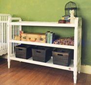 Liberty Changing Table  #projectnursery #franklinandben #nursery