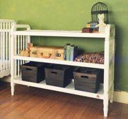 Liberty Changing Table  #projectnursery #franklinandben #nursery