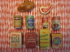 Vintage Playhouse Groceries