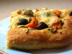 Gourmandises végétariennes: Antipasti-Raclette auf Focaccia
