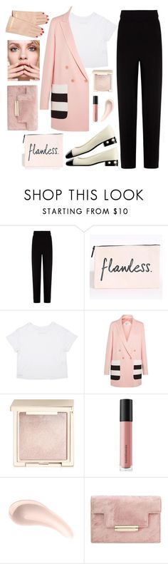 """Flawless"" by bibi-b ❤ liked on Polyvore featuring Balenciaga, Chanel, MaxMara, Jouer, Bare Escentuals, Soap & Glory, GINTA and Undercover"