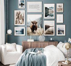 Home Decor Bedroom, Living Room Decor, Decor Room, Wall Art Decor, Bedroom Color Schemes, Bedroom Color Palettes, Home Color Schemes, Room Color Ideas Bedroom, House Color Schemes Interior