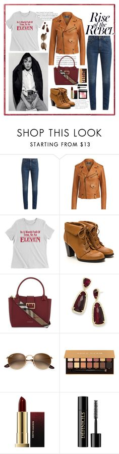 """Leggo My Eggo"" by sdkmiller ❤ liked on Polyvore featuring Yves Saint Laurent, Polo Ralph Lauren, Burberry, Kendra Scott, Anastasia Beverly Hills, Kevyn Aucoin, Lancôme and Bobbi Brown Cosmetics"