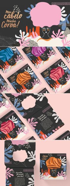 Beautiful organic illustration for an extraordinary brand visual and packaging