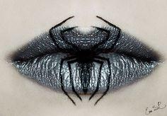 Maquillages de lèvres Halloween par Eva Pernas maquillages de levres halloween par eva pernas 7