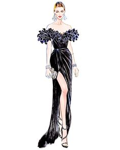 Cannes 2016: Karlie Kloss looks gorgeous in a Marchesa‬ dress at ‪Amfar‬ Gala   Illustration by  Sunny Gu Get updates from  Facebook...