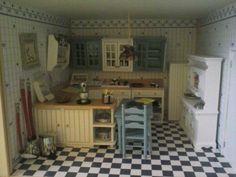 Mi cocina, de mi casita en miniatura.