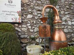 Maquina para destilar prefumes